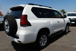 2019 Toyota Landcruiser Prado White 6 Speed Automatic Wagon