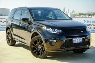 2018 Land Rover Discovery Sport L550 18MY TD4 HSE Luxury Black 9 Speed Sports Automatic Wagon.