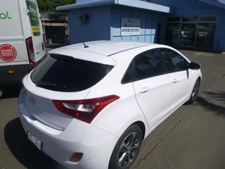 2015 Hyundai i30 GD4 Series II MY16 Active X White 6 Speed Manual Hatchback.
