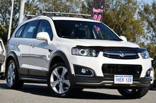 2014 Holden Captiva CG MY14 7 AWD LTZ White 6 Speed Sports Automatic Wagon.