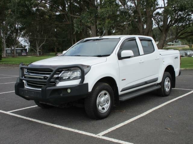 Used Holden Colorado LS (4x4) Timboon, 2017 Holden Colorado RG Turbo LS (4x4) White Automatic Utility