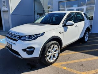 2017 Land Rover Discovery Sport L550 17MY HSE Luxury White 9 Speed Sports Automatic Wagon.