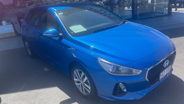 Used Hyundai i30 PD MY18 Active Moorooka, 2017 Hyundai i30 PD MY18 Active Blue 6 Speed Sports Automatic Hatchback