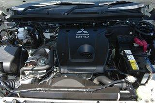 2016 Mitsubishi Triton MQ MY17 GLS (4x4) White 5 Speed Automatic Dual Cab Utility