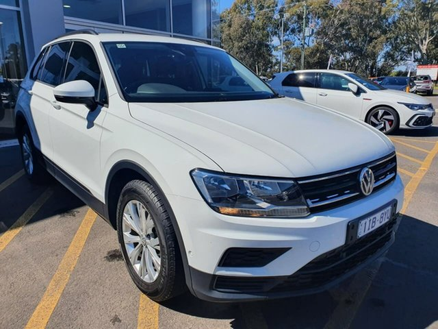 Used Volkswagen Tiguan 5N MY17 110TSI DSG 2WD Trendline Epsom, 2016 Volkswagen Tiguan 5N MY17 110TSI DSG 2WD Trendline White 6 Speed Sports Automatic Dual Clutch