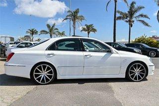 2006 Toyota Crown UZS186 Majesta White 6 Speed Automatic Sedan