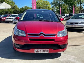 2007 Citroen C4 Red 4 Speed Automatic Hatchback