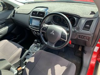 2015 Mitsubishi ASX XB MY15.5 LS 2WD Red 6 Speed Constant Variable Wagon