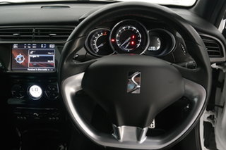 2014 Citroen DS3 MY14 DSport White 6 Speed Manual Hatchback