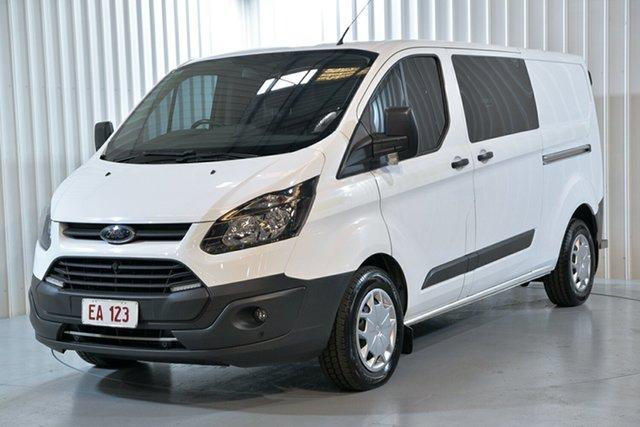 Used Ford Transit Custom VN 340L (Low Roof) Hendra, 2017 Ford Transit Custom VN 340L (Low Roof) White 6 Speed Automatic Van