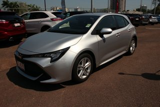 2019 Toyota Corolla Mzea12R Ascent Sport Silver Pearl 1 Speed Automatic Hatchback.