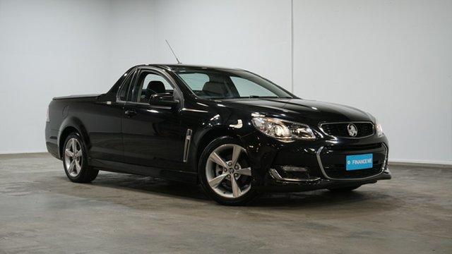 Used Holden Ute VF II MY16 SV6 Ute Welshpool, 2015 Holden Ute VF II MY16 SV6 Ute Black 6 Speed Manual Utility