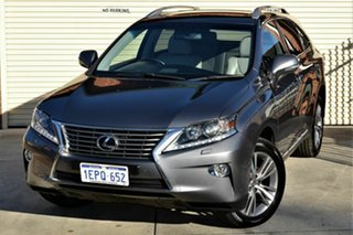 2014 Lexus RX GGL15R RX350 Luxury Grey 6 Speed Sports Automatic Wagon.
