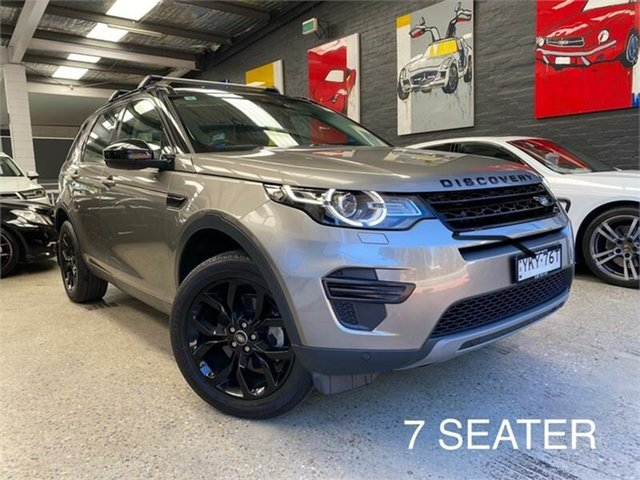 Used Land Rover Discovery Sport L550 SE Glebe, 2016 Land Rover Discovery Sport L550 SE Grey Sports Automatic Wagon