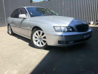 2003 Holden Caprice WK Silver 4 Speed Automatic Sedan.