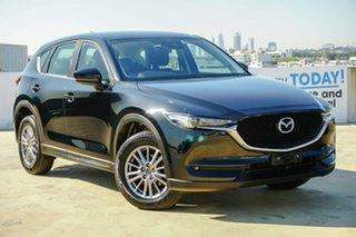 2018 Mazda CX-5 KF4WLA Maxx SKYACTIV-Drive i-ACTIV AWD Sport Jet Black 6 Speed Sports Automatic.