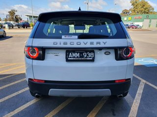 2017 Land Rover Discovery Sport L550 17MY HSE Luxury White 9 Speed Sports Automatic Wagon