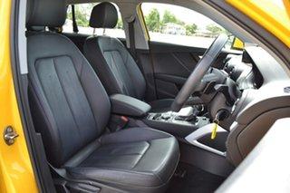 2017 Audi Q2 GA MY17 design S Tronic Yellow 7 Speed Sports Automatic Dual Clutch Wagon
