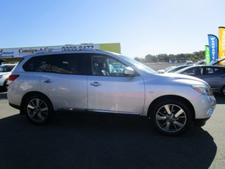 2013 Nissan Pathfinder R52 MY14 Ti X-tronic 4WD Silver 1 Speed Constant Variable Wagon