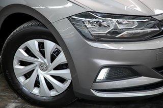 2018 Volkswagen Polo AW MY18 70TSI Trendline Grey 5 Speed Manual Hatchback.