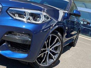 2021 BMW X3 G01 xDrive30i M Sport Phytonic Blue 8 Speed Auto Steptronic Sport Wagon.