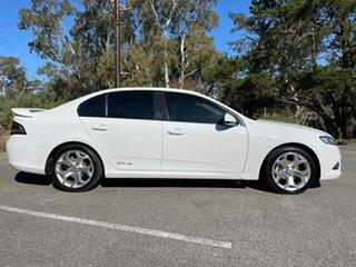 2011 Ford Falcon FG XR6 White 6 Speed Sports Automatic Sedan.