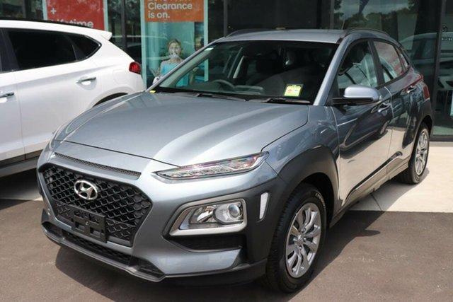 Used Hyundai Kona OS.3 MY20 Go 2WD Springwood, 2019 Hyundai Kona OS.3 MY20 Go 2WD Lake Silver 6 Speed Sports Automatic Wagon
