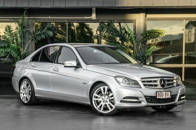 Used Mercedes-Benz C-Class W204 MY11 C250 BlueEFFICIENCY 7G-Tronic + Elegance Bowen Hills, 2011 Mercedes-Benz C-Class W204 MY11 C250 BlueEFFICIENCY 7G-Tronic + Elegance Silver 7 Speed