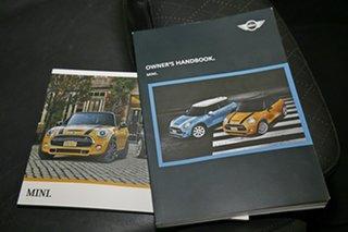 2016 Mini Hatch F56 Cooper S Midnight Black 6 Speed Sports Automatic Hatchback
