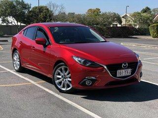 2015 Mazda 3 BM5238 SP25 SKYACTIV-Drive GT Maroon 6 Speed Sports Automatic Sedan.