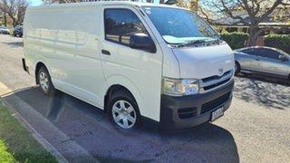 2008 Toyota HiAce TRH201R MY07 Upgrade LWB Vanilla 4 Speed Automatic Van.