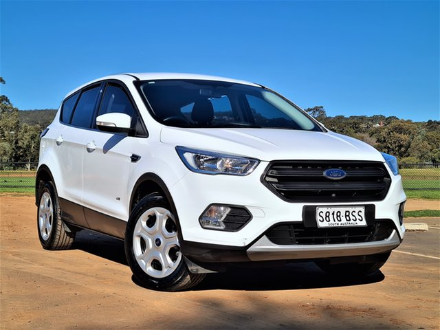 Used Ford Escape ZG Ambiente St Marys, 2017 Ford Escape ZG Ambiente White 6 Speed Sports Automatic SUV