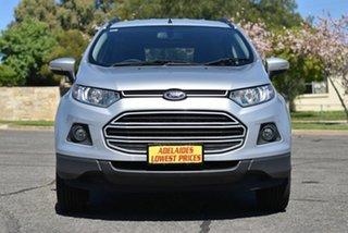 2015 Ford Ecosport BK Trend PwrShift Silver 6 Speed Sports Automatic Dual Clutch Wagon.