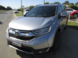 2017 Honda CR-V MY18 VTi-LX (AWD) Silver Continuous Variable Wagon.
