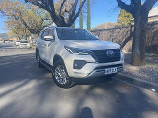 2021 Toyota Fortuner GUN156R Crusade Crystal Pearl 6 Speed Automatic Wagon.