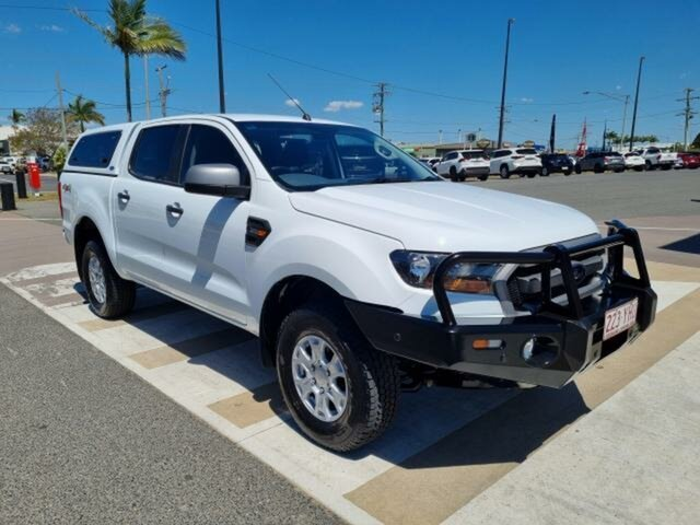 Pre-Owned Ford Ranger PX MkII MY18 XLS 3.2 (4x4) Gladstone, 2018 Ford Ranger PX MkII MY18 XLS 3.2 (4x4) White 6 Speed Automatic Double Cab Pick Up