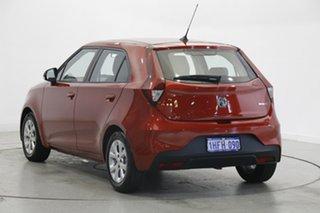 2020 MG MG3 SZP1 MY21 Core Tartan Red 4 Speed Automatic Hatchback.