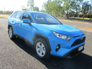 2021 Toyota RAV4 Mxaa52R GX 2WD Eclectic Blue 10 Speed Constant Variable Wagon.