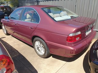 2003 BMW 5 Series E39 MY02 530i Steptronic Executive Red 5 Speed Sports Automatic Sedan