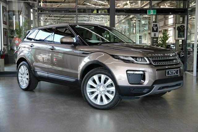 Used Land Rover Range Rover Evoque L538 MY18 TD4 150 SE North Melbourne, 2018 Land Rover Range Rover Evoque L538 MY18 TD4 150 SE Bronze 9 Speed Sports Automatic Wagon
