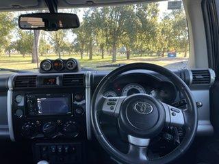2016 Toyota FJ Cruiser GSJ15R MY14 Ebony Black & White 5 Speed Automatic Wagon