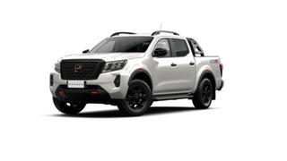 2021 Nissan Navara D23 Pro-4X White Pearl 7 Speed Automatic Dual Cab Utility.