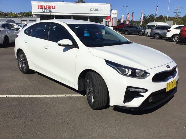 Used Kia Cerato BD MY19 Sport Cardiff, 2019 Kia Cerato BD MY19 Sport White 6 Speed Sports Automatic Hatchback