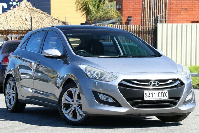 Used Hyundai i30 GD2 Active Gepps Cross, 2013 Hyundai i30 GD2 Active Silver 6 Speed Sports Automatic Hatchback