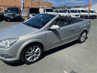 2007 Holden Astra AH MY08 Twin TOP Silver 6 Speed Manual Convertible