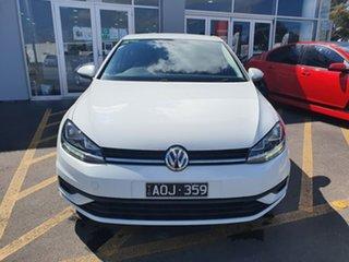 2017 Volkswagen Golf 7.5 MY18 110TSI DSG White 7 Speed Sports Automatic Dual Clutch Hatchback.