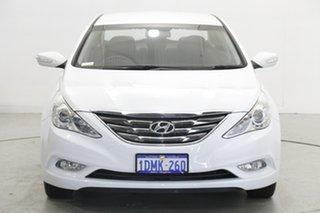 2010 Hyundai i45 YF Active Noble White 6 Speed Sports Automatic Sedan.