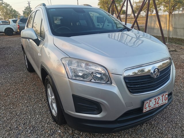 Used Holden Trax TJ MY16 LS Pinelands, 2015 Holden Trax TJ MY16 LS Silver 5 Speed Manual Wagon