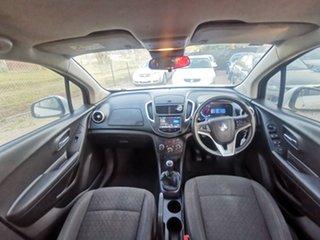 2015 Holden Trax TJ MY16 LS Silver 5 Speed Manual Wagon