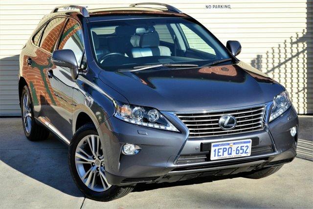 Used Lexus RX GGL15R RX350 Luxury Mount Lawley, 2014 Lexus RX GGL15R RX350 Luxury Grey 6 Speed Sports Automatic Wagon